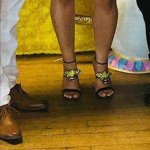 Gucci heel straps